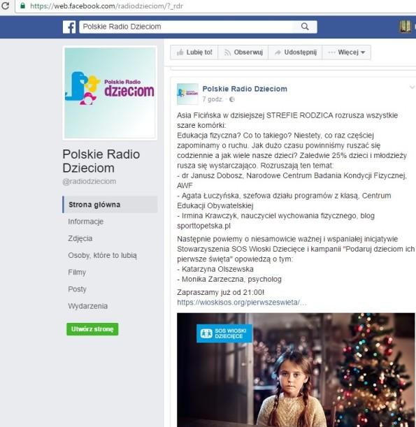 facebook polskie radio dzieciom